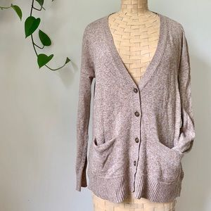 Madewell Button Down Cardigan Sweater
